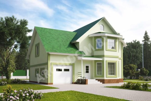 Купить архитектурный проект дома в английском стиле
