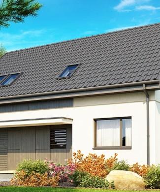 Проект дома 151,1 м² с отличной планировкой Z183
