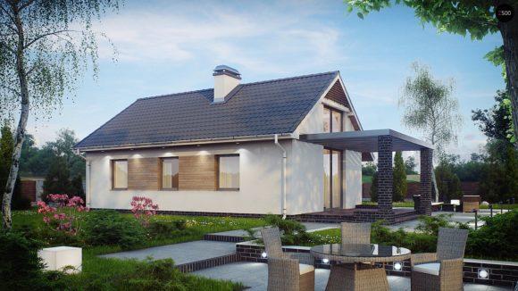 Проект маленького дома до 100 м в Минске