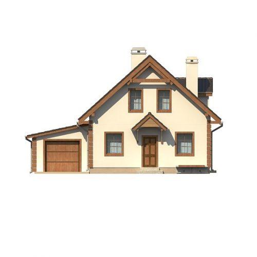 Фасад дома Z1 GL 1