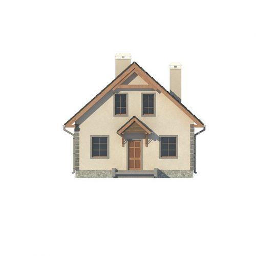Фасад дома Z1 bl 3