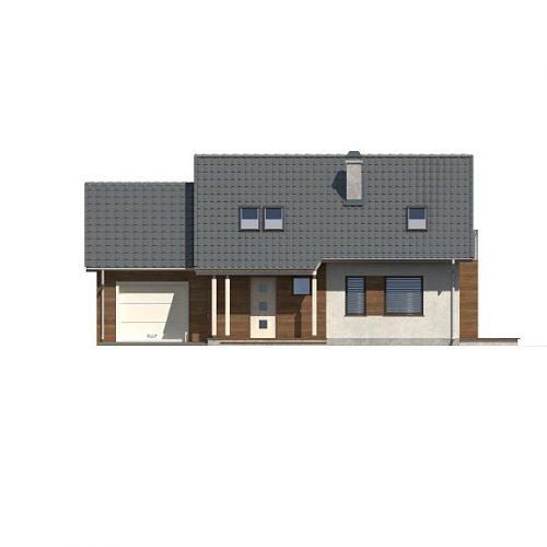Фасад дома Z101 D GL 1