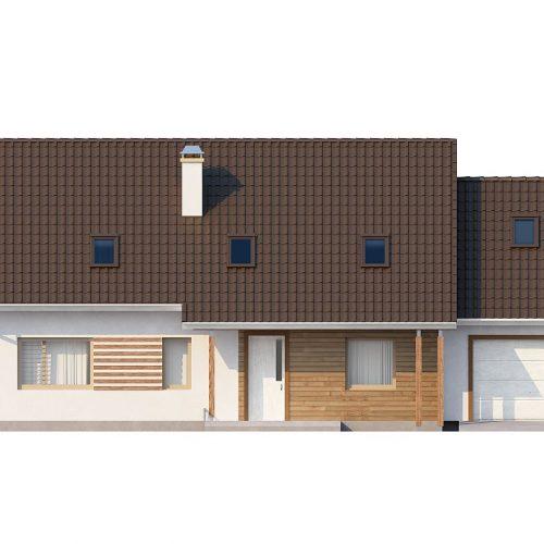Фасад дома Z103 1