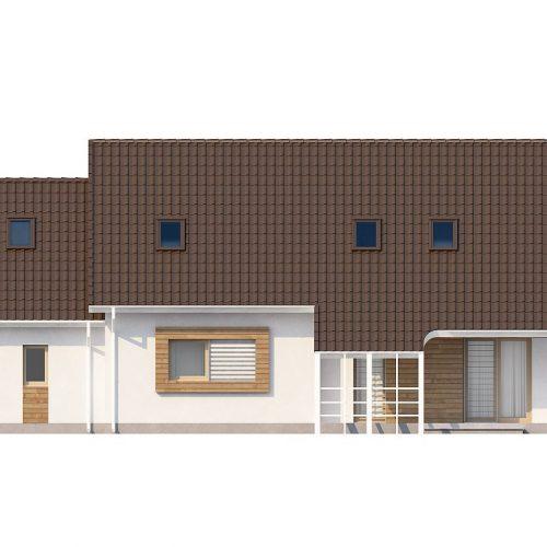 Фасад дома Z103 2