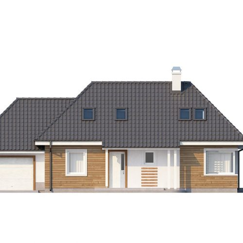 Фасад дома Z105 1