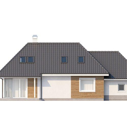 Фасад дома Z105 2