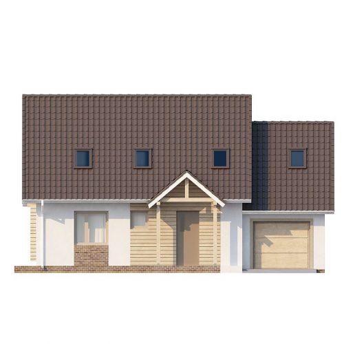 Фасад дома Z107 1