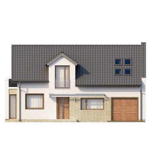Фасад дома Z110 1