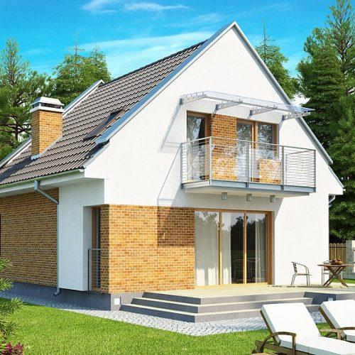 Фото проекта дома Z112 вид 2