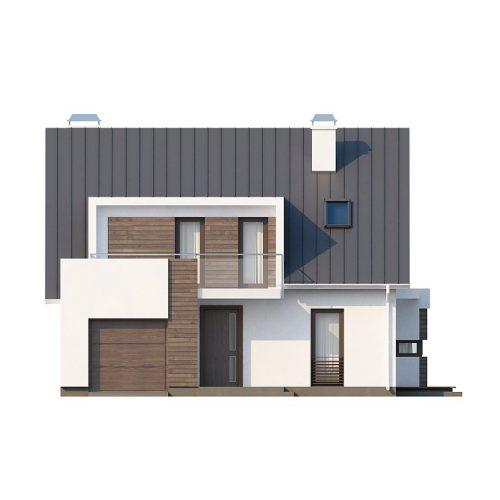 Фасад дома Z116 1