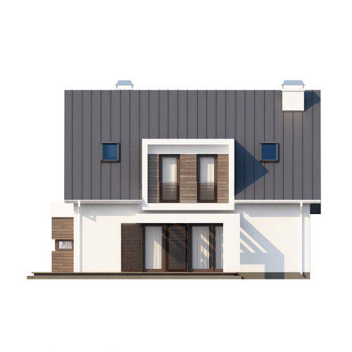 Фасад дома Z116 2