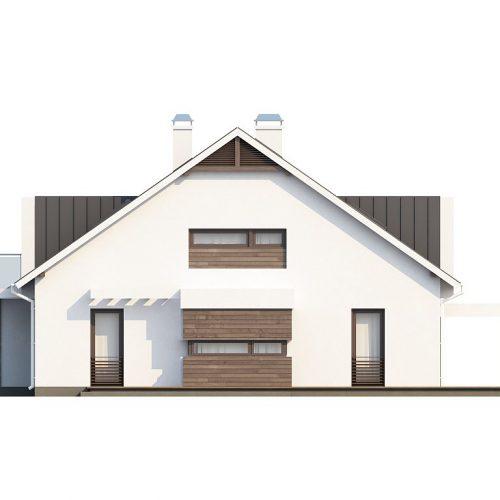 Фасад дома Z116 4
