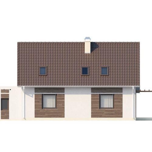 Фасад дома Z117 2