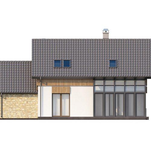 Фасад дома Z118 2