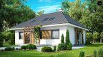 Фото проекта дома Z121 вид с улицы