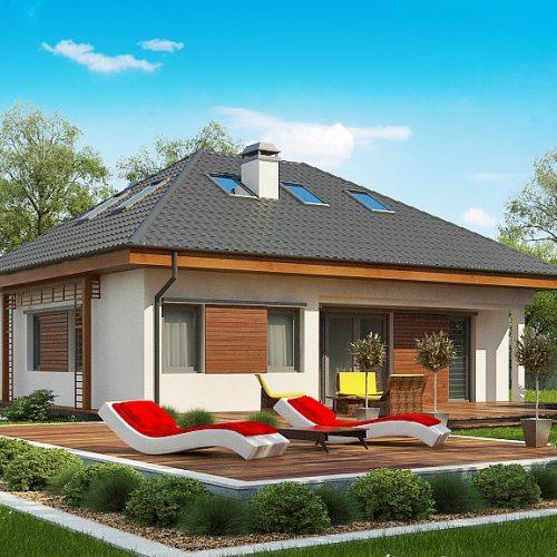 Фото проекта дома Z121 A вид 2