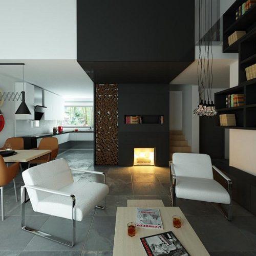Фото интерьера дома Z122 v2 3