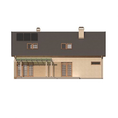 Фасад дома Z122 v2 3