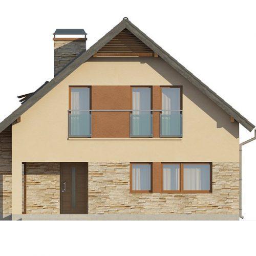 Фасад дома Z134 1