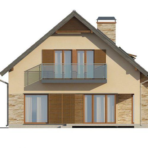 Фасад дома Z134 2