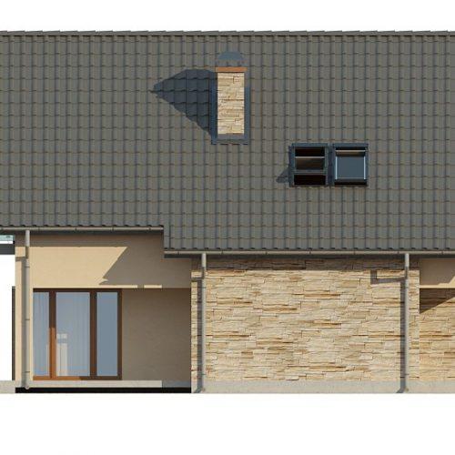 Фасад дома Z134 4