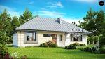 Фото проекта дома Z140 вид с улицы