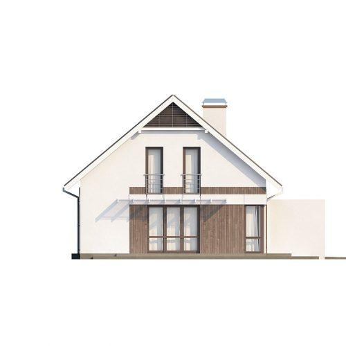 Фасад дома Z142 3