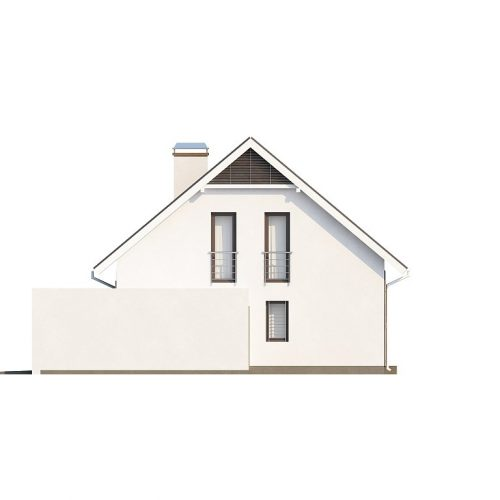 Фасад дома Z142 4