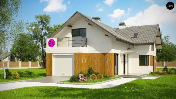 Фото проекта дома Z150 GL вид с улицы