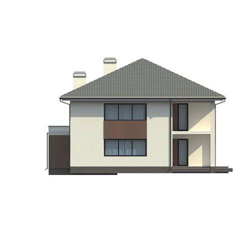 Фасад дома Z156 1