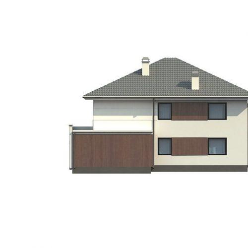 Фасад дома Z156 2
