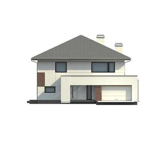 Фасад дома Z156 3
