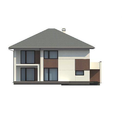 Фасад дома Z156 4