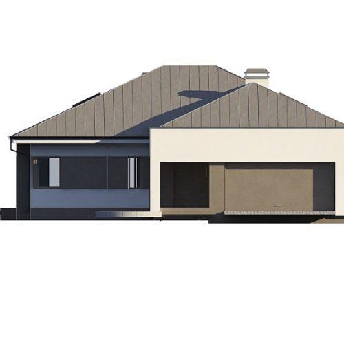 Фасад дома Z158 1