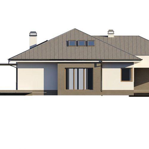 Фасад дома Z158 2