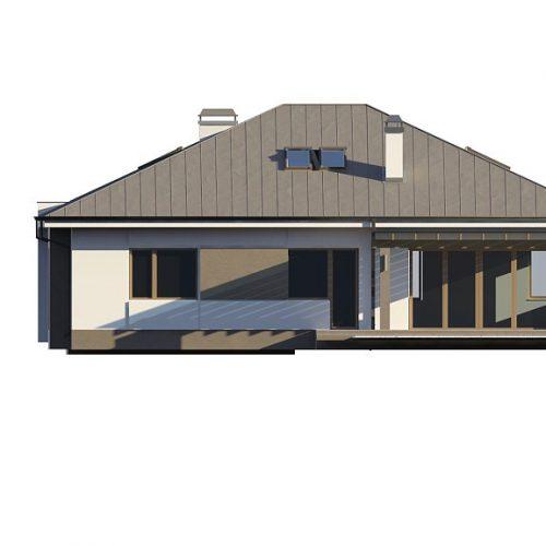 Фасад дома Z158 3