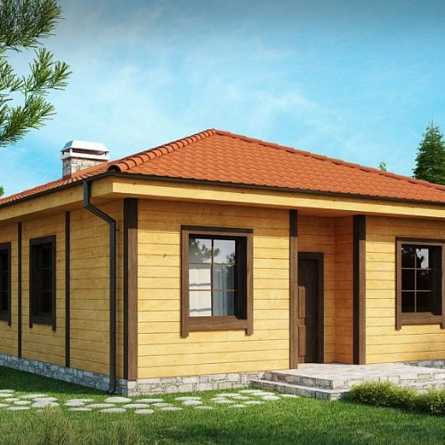 Фото проекта дома Z16 dk вид 2