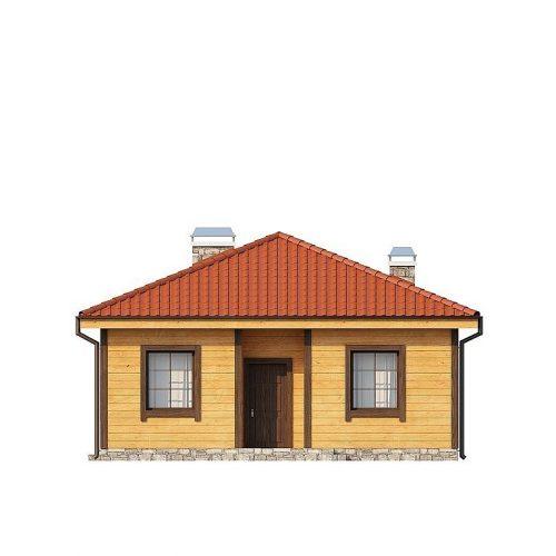 Фасад дома Z16 dk 1