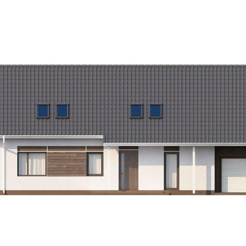 Фасад дома Z160 1