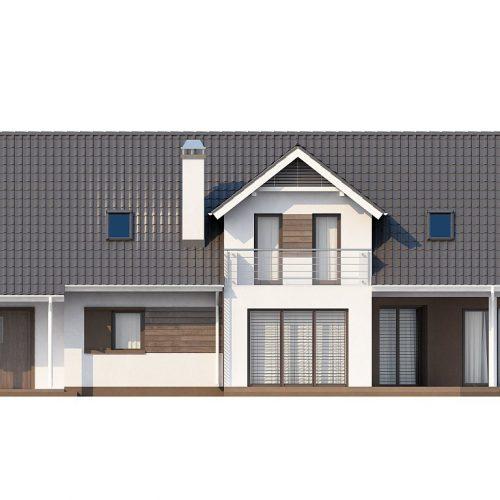 Фасад дома Z160 3