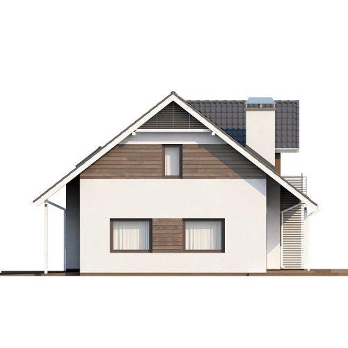 Фасад дома Z160 4
