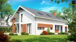 Фото проекта дома Z161 вид с улицы