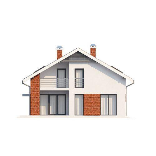 Фасад дома Z161 2