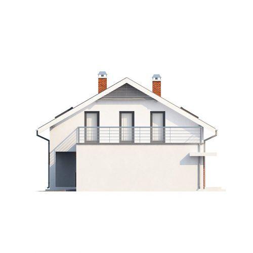 Фасад дома Z161 4