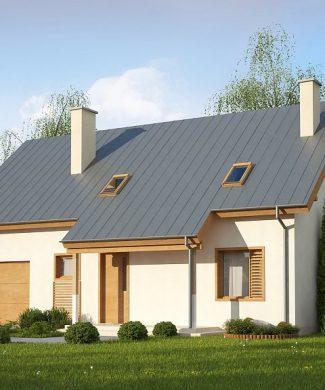 Фото проекта дома Z162 GL вид с улицы
