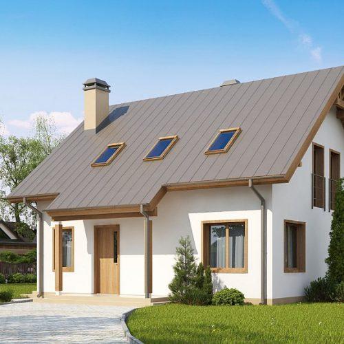 Фото проекта дома Z162 v3 вид с улицы