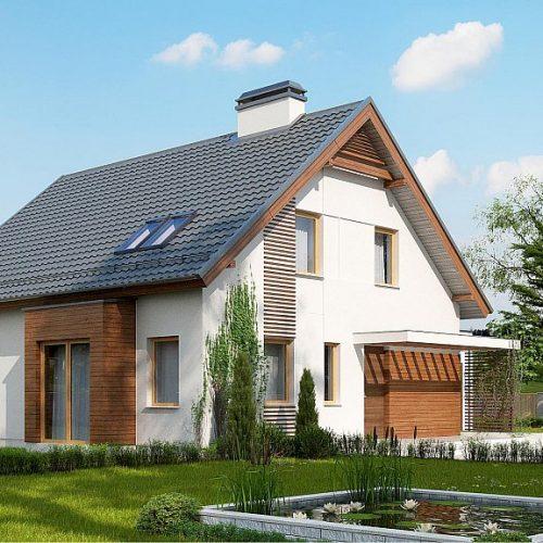 Фото проекта дома Z166 GP вид 2