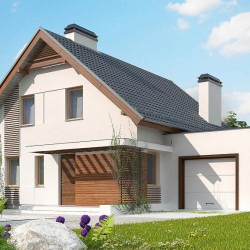 Фото проекта дома Z166 GP вид с улицы