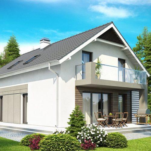 Фото проекта дома Z168 вид 2