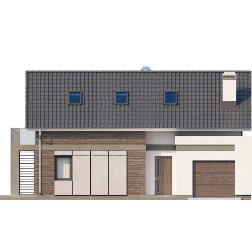 Фасад дома Z168 1